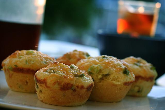 Muffins salés aux sardines